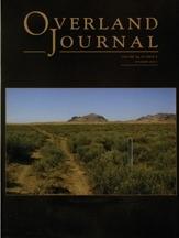 Overland Journal Volume 29 Number 2 Summer 2011