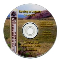 Saving a Legacy/Across the Kansas Prairie and Across The Oregon Trail (DVDs)
