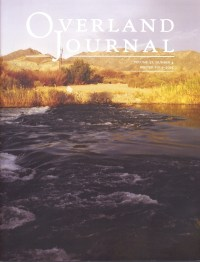 Overland Journal Volume 32 Number 4 2014-2015