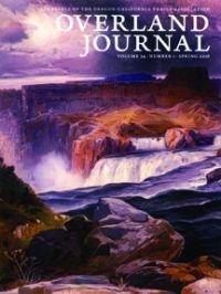 Overland Journal Volume 34 Number 1 Spring 2016