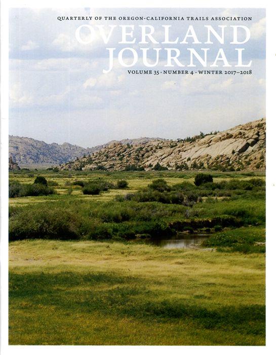 Overland Journal Volume 35 Number 4 Winter 2017-2018