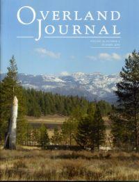 Overland Journal Volume 33 Number 2 Summer 2015