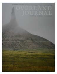 Overland Journal Volume 34 Number 2 Summer 2016