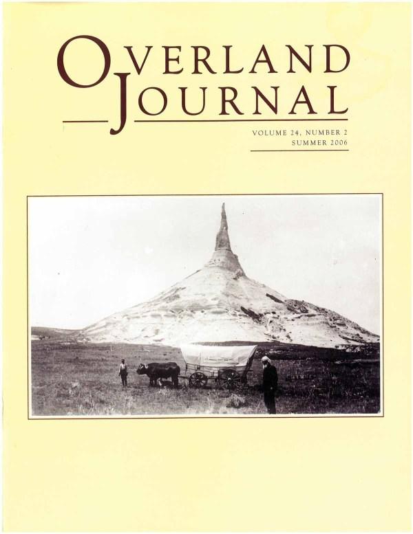 Overland Journal Volume 24 Number 2 Summer 2006