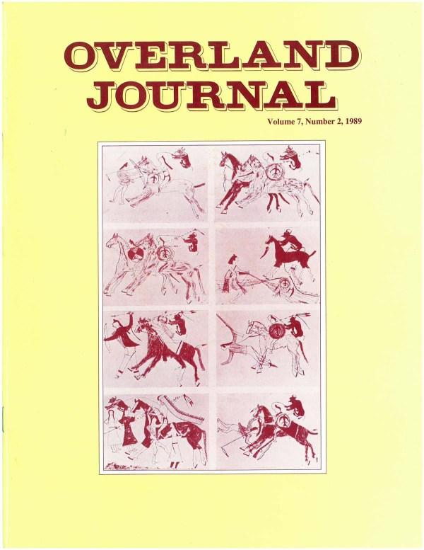Overland Journal Volume 7 Number 2 1989