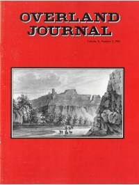 Overland Journal Volume 9 Number 2 1991