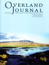Overland Journal Volume 33 Number 4 2015-2016