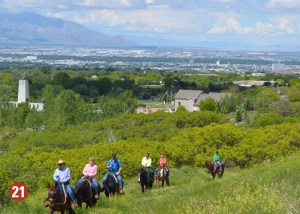 This is the Place horseback trail rides