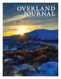 cover Overland Journal 38-4 Winter 2020-2021