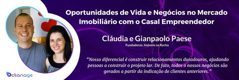 E020 Claudia Gian Paese Imoveis na Rocha Porto Alegre - Octanage PodCast Mercado Imobiliário