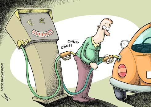 Gasolina Cara no Brasil