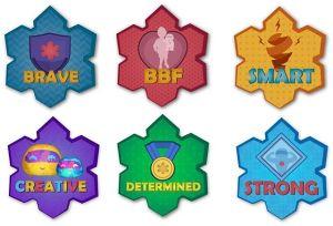badges do iubi - Bruna Paese - Brinquedo Inteligente para a Saúde de Milhões de Crianças - Octanage Podcast