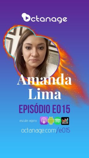 Audiograma Amanda Lima - Chamada do Episódio E015