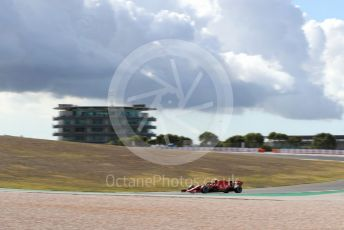 World © Octane Photographic Ltd. Formula 1 – F1 Portuguese GP, Practice 1. Scuderia Ferrari SF1000 – Charles Leclerc. Autodromo do Algarve, Portimao, Portugal. Friday 23rd October 2020.
