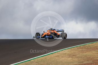 World © Octane Photographic Ltd. Formula 1 – F1 Portuguese GP, Practice 1. McLaren MCL35 – Carlos Sainz. Autodromo do Algarve, Portimao, Portugal. Friday 23rd October 2020.