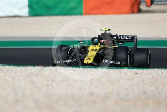 World © Octane Photographic Ltd. Formula 1 – F1 Portuguese GP, Practice 1. Renault Sport F1 Team RS20 – Esteban Ocon. Autodromo do Algarve, Portimao, Portugal. Friday 23rd October 2020.