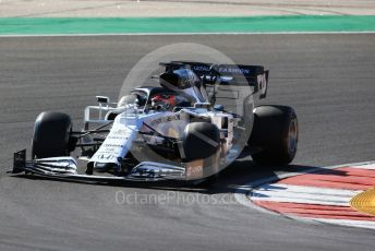 World © Octane Photographic Ltd. Formula 1 – F1 Portuguese GP, Practice 2. Scuderia AlphaTauri Honda AT01 – Daniil Kvyat. Autodromo do Algarve, Portimao, Portugal. Friday 23rd October 2020.