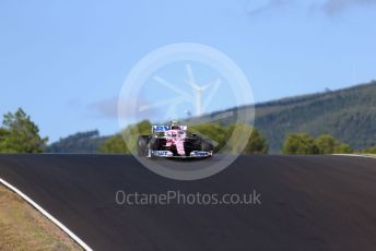 World © Octane Photographic Ltd. Formula 1 – F1 Portuguese GP, Practice 2. BWT Racing Point F1 Team RP20 – Lance Stroll. Autodromo do Algarve, Portimao, Portugal. Friday 23rd October 2020.