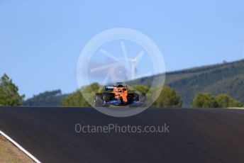 World © Octane Photographic Ltd. Formula 1 – F1 Portuguese GP, Practice 2. McLaren MCL35 – Carlos Sainz. Autodromo do Algarve, Portimao, Portugal. Friday 23rd October 2020.