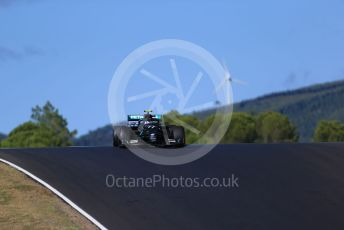 World © Octane Photographic Ltd. Formula 1 – F1 Portuguese GP, Practice 2. Mercedes AMG Petronas F1 W11 EQ Performance - Valtteri Bottas. Autodromo do Algarve, Portimao, Portugal. Friday 23rd October 2020.