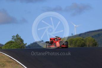World © Octane Photographic Ltd. Formula 1 – F1 Portuguese GP, Practice 2. Scuderia Ferrari SF1000 – Sebastian Vettel. Autodromo do Algarve, Portimao, Portugal. Friday 23rd October 2020.