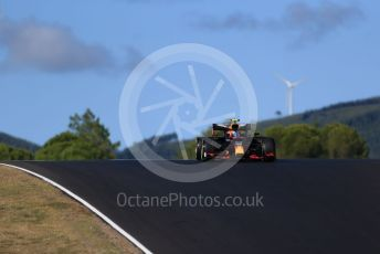 World © Octane Photographic Ltd. Formula 1 – F1 Portuguese GP, Practice 2. Aston Martin Red Bull Racing RB16 – Alexander Albon. Autodromo do Algarve, Portimao, Portugal. Friday 23rd October 2020.