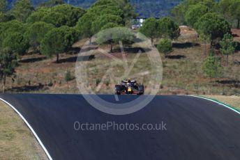 World © Octane Photographic Ltd. Formula 1 – F1 Portuguese GP, Practice 2. Aston Martin Red Bull Racing RB16 – Alexander Albon. Autodromo do Algarve, Portimao, Portugal. Friday 23rd October 2020.