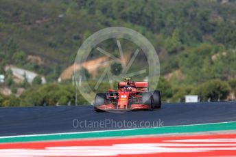 World © Octane Photographic Ltd. Formula 1 – F1 Portuguese GP, Practice 3. Scuderia Ferrari SF1000 – Charles Leclerc. Autodromo do Algarve, Portimao, Portugal. Saturday 24th October 2020.