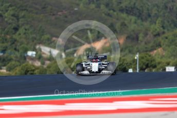 World © Octane Photographic Ltd. Formula 1 – F1 Portuguese GP, Practice 3. Scuderia AlphaTauri Honda AT01 – Daniil Kvyat. Autodromo do Algarve, Portimao, Portugal. Saturday 24th October 2020.