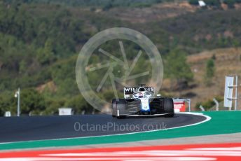 World © Octane Photographic Ltd. Formula 1 – F1 Portuguese GP, Practice 3. Williams Racing FW 43 – George Russell. Autodromo do Algarve, Portimao, Portugal. Saturday 24th October 2020.