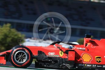 World © Octane Photographic Ltd. Formula 1 – F1 Portuguese GP, Practice 3. Scuderia Ferrari SF1000 – Sebastian Vettel. Autodromo do Algarve, Portimao, Portugal. Saturday 24th October 2020.