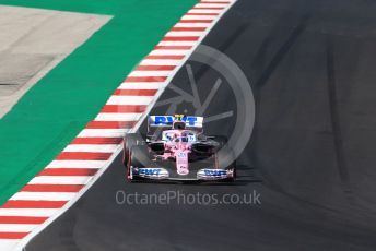 World © Octane Photographic Ltd. Formula 1 – F1 Portuguese GP, Qualifying. BWT Racing Point F1 Team RP20 – Lance Stroll. Autodromo do Algarve, Portimao, Portugal. Saturday 24th October 2020.