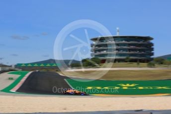 World © Octane Photographic Ltd. Formula 1 – F1 Portuguese GP, Qualifying. McLaren MCL35 – Carlos Sainz. Autodromo do Algarve, Portimao, Portugal. Saturday 24th October 2020.