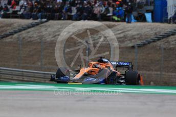 World © Octane Photographic Ltd. Formula 1 – F1 Portuguese GP, Race. McLaren MCL35 – Carlos Sainz. Autodromo do Algarve, Portimao, Portugal. Sunday 25th October 2020.