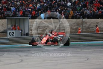 World © Octane Photographic Ltd. Formula 1 – F1 Portuguese GP, Race. Scuderia Ferrari SF1000 – Sebastian Vettel. Autodromo do Algarve, Portimao, Portugal. Sunday 25th October 2020.