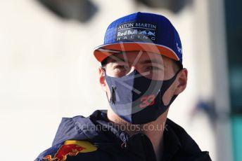 World © Octane Photographic Ltd. Formula 1 – F1 Portuguese GP, Paddock. Aston Martin Red Bull Racing RB16 – Max Verstappen. Autodromo do Algarve, Portimao, Portugal. Saturday 24th October 2020.