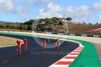 World © Octane Photographic Ltd. Formula 1 – F1 Portuguese GP, Track Walk. Scuderia Ferrari SF1000 – Charles Leclerc. Autodromo do Algarve, Portimao, Portugal. Thursday 22nd October 2020.