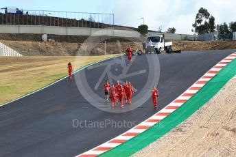 World © Octane Photographic Ltd. Formula 1 – F1 Portuguese GP, Track Walk. Scuderia Ferrari SF1000 – Sebastian Vettel. Autodromo do Algarve, Portimao, Portugal. Thursday 22nd October 2020.