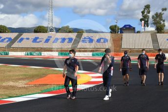 World © Octane Photographic Ltd. Formula 1 – F1 Portuguese GP, Track Walk. BWT Racing Point F1 Team RP20 – Lance Stroll. Autodromo do Algarve, Portimao, Portugal. Thursday 22nd October 2020.