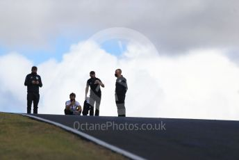 World © Octane Photographic Ltd. Formula 1 – F1 Portuguese GP, Track Walk. Scuderia AlphaTauri Honda AT01 – Pierre Gasly. Autodromo do Algarve, Portimao, Portugal. Thursday 22nd October 2020.