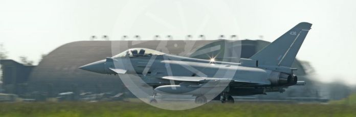 RAF Coningsby. Eurofighter Typhoon FGR4 ZK436 ready for take off. 2nd June 2021. World © Octane Photographic Ltd.