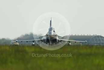 RAF Coningsby. Eurofighter Typhoon FGR4 ZK315 taxiing to the runway. 2nd June 2021. World © Octane Photographic Ltd.