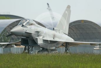 RAF Coningsby. Eurofighter Typhoon FGR4 ZK365 taxiing to the runway. 2nd June 2021. World © Octane Photographic Ltd.