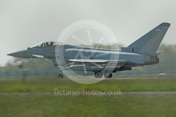 RAF Coningsby. Eurofighter Typhoon FGR4 ZK309 taxiing to the runway. 2nd June 2021. World © Octane Photographic Ltd.