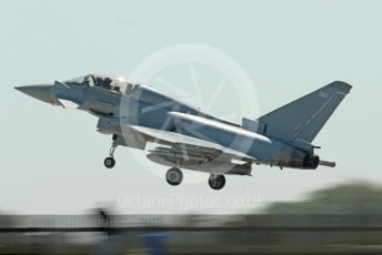 RAF Coningsby. Eurofighter Typhoon T3 ZK380 takes off. 2nd June 2021. World © Octane Photographic Ltd.
