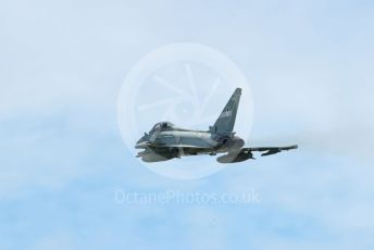 RAF Coningsby. Eurofighter Typhoon FGR4 ZK359 (12 Sqn) takes off. 2nd June 2021. World © Octane Photographic Ltd.