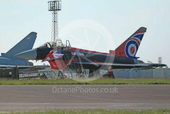 "RAF Coningsby. Eurofighter Typhoon FGR4 ZJ914 29Sqn ""Black Jack"", Typhoon Display Team, Flt Lt James Sainty ""Anarchy 1"". 2nd June 2021. World © Octane Photographic Ltd."