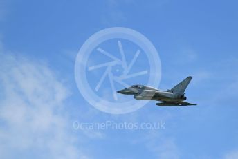 RAF Coningsby. Eurofighter Typhoon T3 ZK383 (12 Sqn) takes off. 2nd June 2021. World © Octane Photographic Ltd.