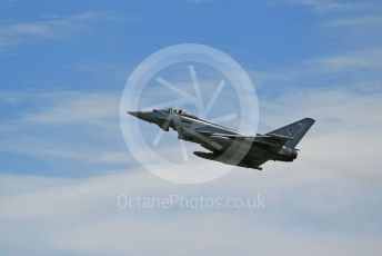 RAF Coningsby. Eurofighter Typhoon FGR4 ZK366 (12 Sqn) takes off. 2nd June 2021. World © Octane Photographic Ltd.