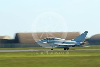 RAF Coningsby. Eurofighter Typhoon T3 ZK379 lands. 2nd June 2021. World © Octane Photographic
